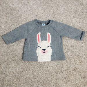 Old Navy Llama Sweater
